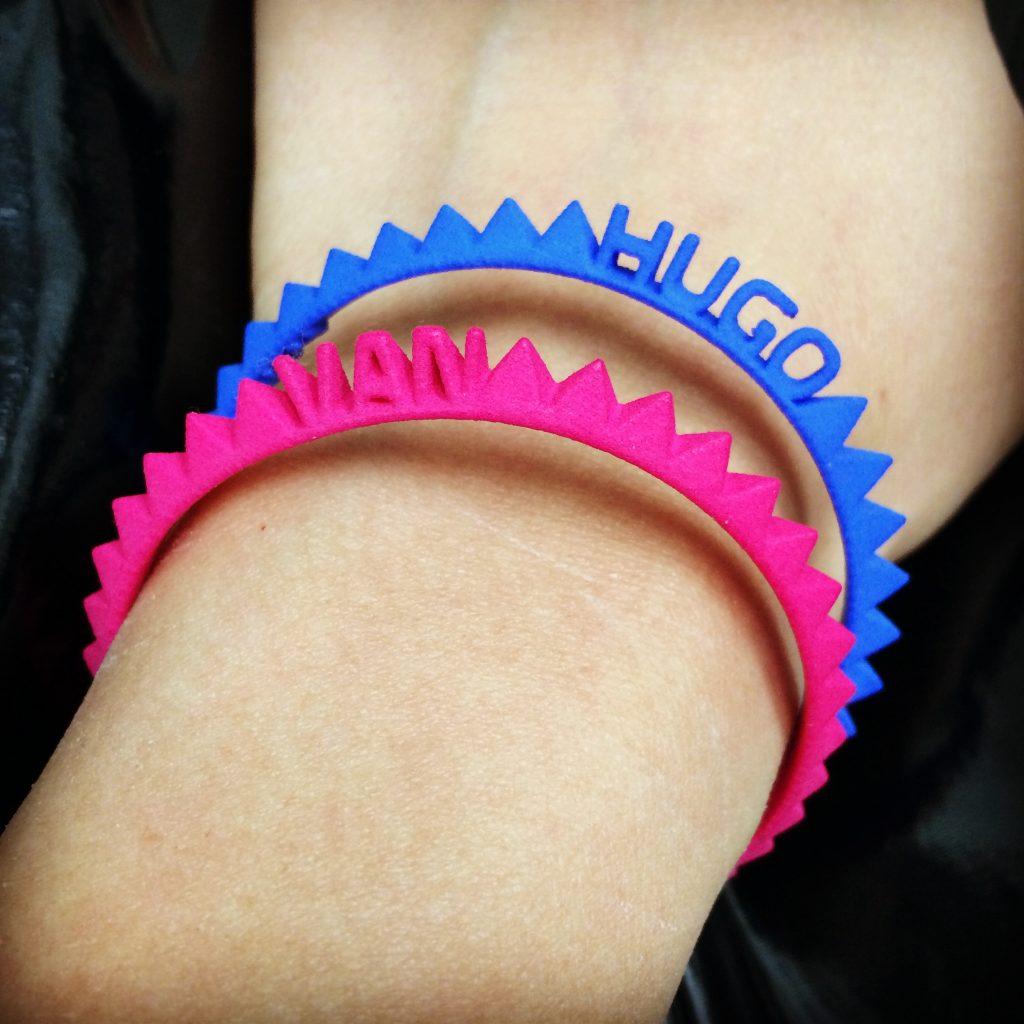 Google & Shapeways will 3D-print & send you a custom bracelet for FREE
