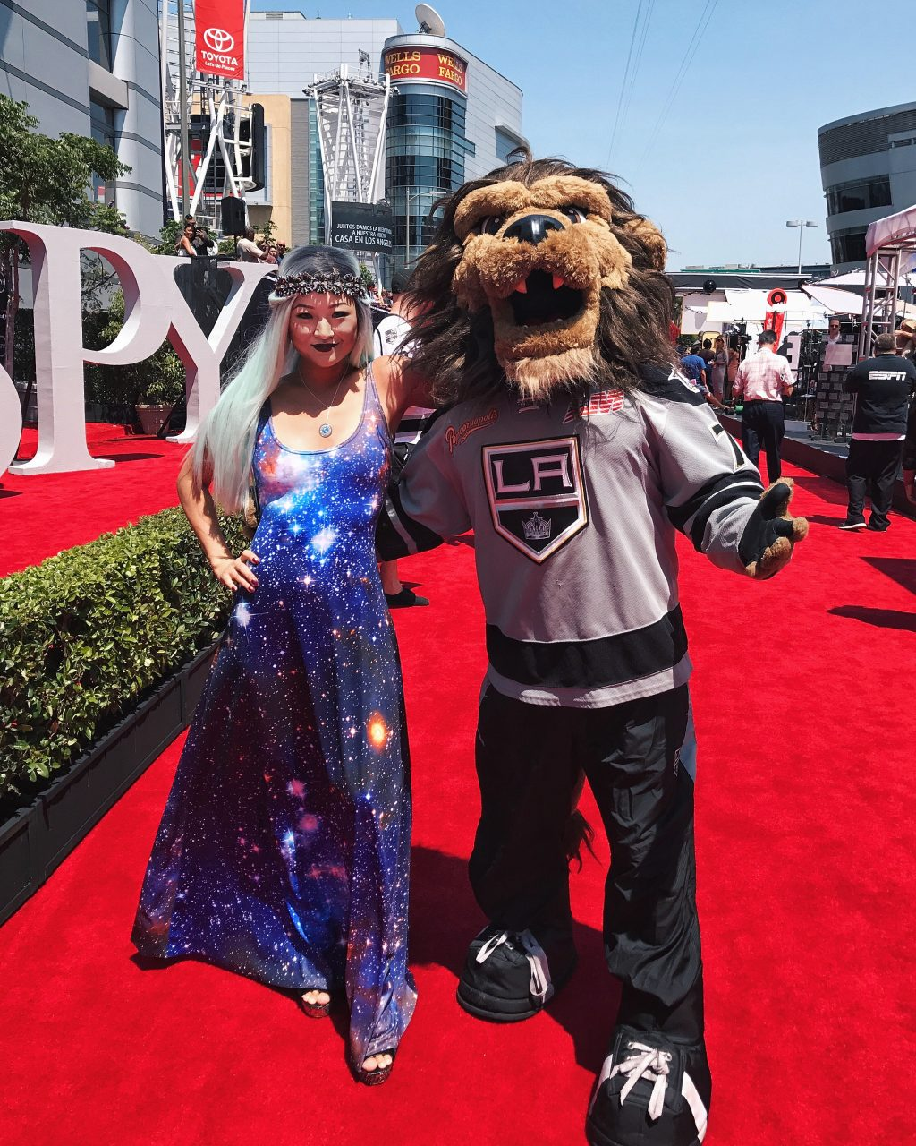 Sports in Space on the 2017 ESPYs Red Carpet